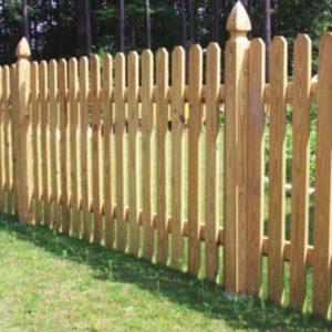 Semi Private Fence